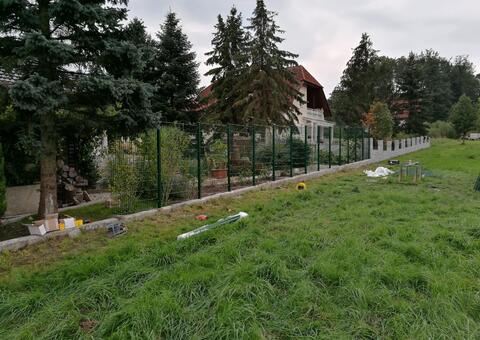 Doppelstabgitterzaun in 3375 Krummnussbaum Niederösterreich 03