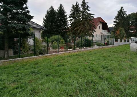 Doppelstabgitterzaun in 3375 Krummnussbaum Niederösterreich 06