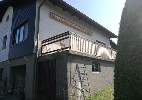 Balkongeländer aus Holz in 3040 Neulengbach Niederösterreich 08