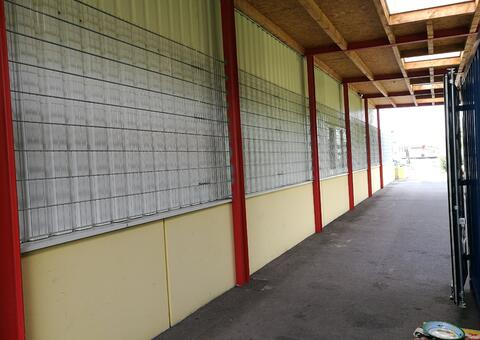 Doppelstabgitterzaun in 2362 Biedermannsdorf Niederösterreich 05