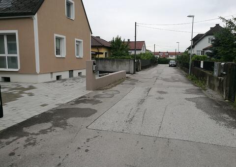 Doppelstabgitterzaun in 3151 St. Pölten-ST. Georgen Niederösterreich 02