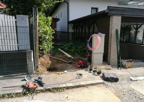 Doppelstabgitterzaun in 2381 Laab im Wald Niederösterreich 02