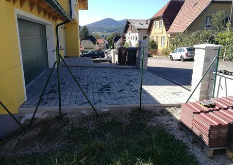 Maschendrahtzaun in 2560 Berndorf Niederösterreich 06