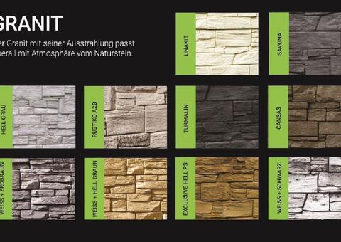 Muster Granit