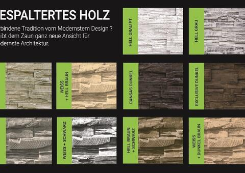 Muster Gespaltertes Holz