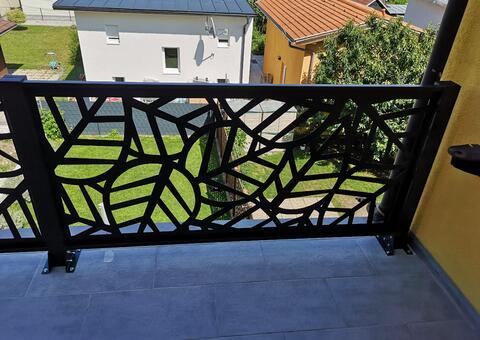 Balkongeländer aus Metall in 1230 Wien 06