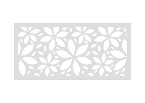 Flower  97,5x90 ZE 01 01 W