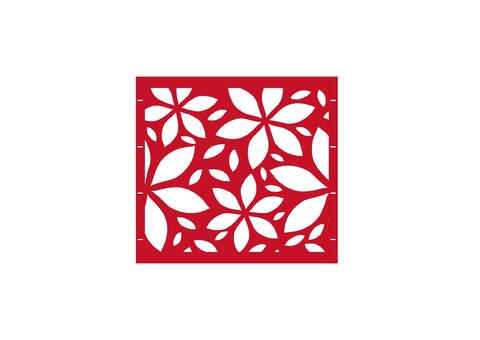 Flower  97,5x90 ZE 04 02 R