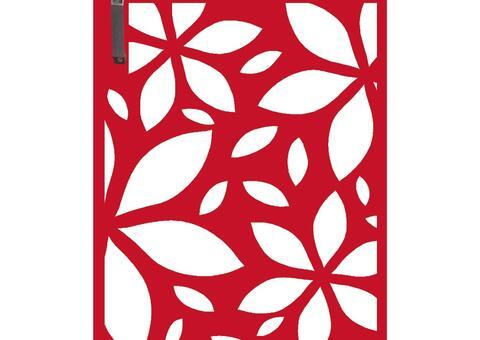 Flower  Mülltonnentür MT 120 01 R