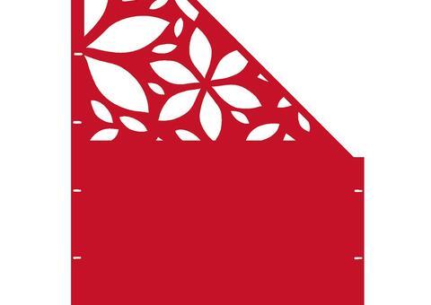 Flower schräg-rechts-97,5x180 ZES 02 01 R