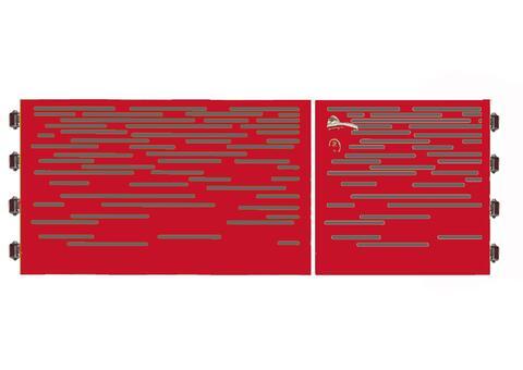Lines Doppeltor DTM 6+9 04 R
