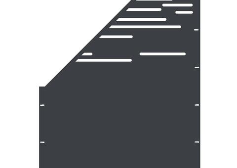 Lines schräg-links-97,5x180 ZES 03 04 A