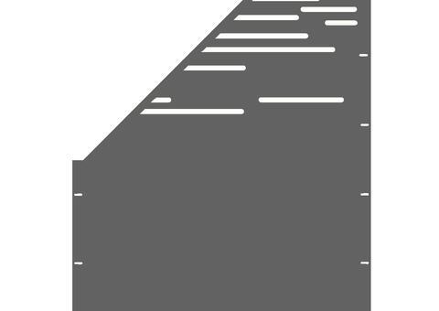 Lines schräg-links-97,5x180 ZES 03 04 H