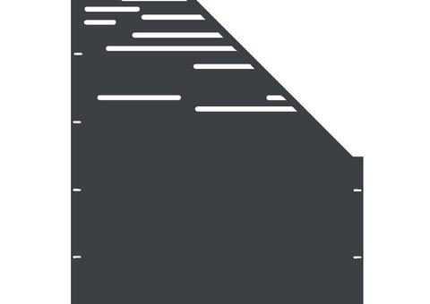 Lines schräg-rechts-97,5x180 ZES 02 04 A