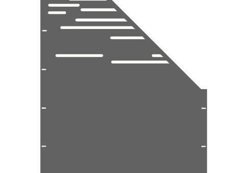 Lines schräg-rechts-97,5x180 ZES 02 04 H