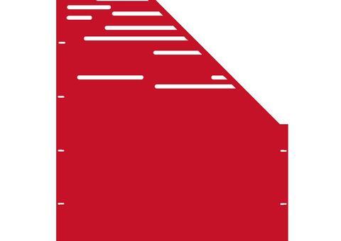 Lines schräg-rechts-97,5x180 ZES 02 04 R