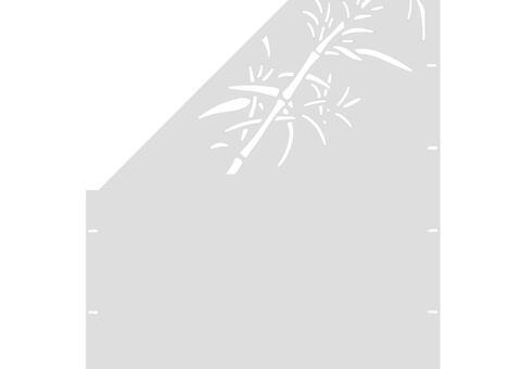 Schilf schräg-links-97,5x180 ZES 03 06 W