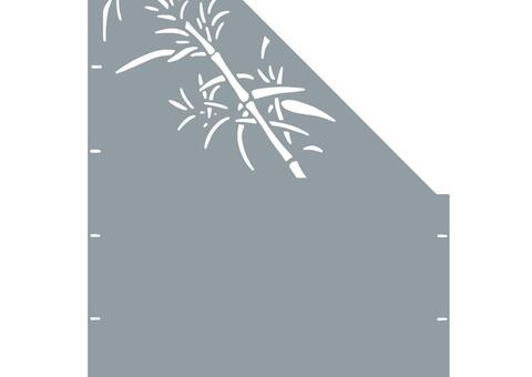 Schilf schräg-rechts-97,5x180 ZES 02 06 H