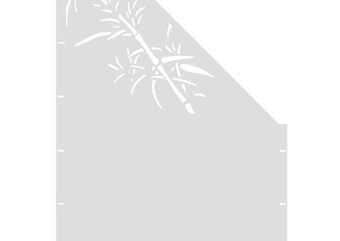 Schilf schräg-rechts-97,5x180 ZES 02 06 W