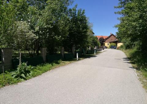 Alu-Zaun in 2482 Münchendorf Niederösterreich 03