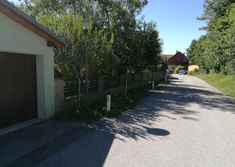 Alu-Zaun in 2482 Münchendorf Niederösterreich 04