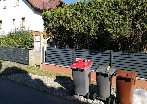 Alu-Zaun in 2441 Mitterndorf Niederösterreich 08
